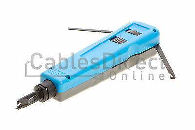 Impact punch down tool 110 / 66 blade network wire cable cat5e cat6 RJ45