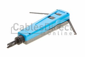 Impact punch down tool 110 / 66 blade network wire cable cat5e cat6 RJ