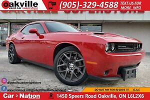 2016 Dodge Challenger R/T | NAV | B/U CAM | RED LEATHER | HTD VN