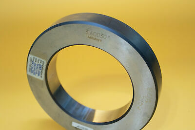 Mitutoyo 177-189 Setting Bore Gage Ring 3.60030