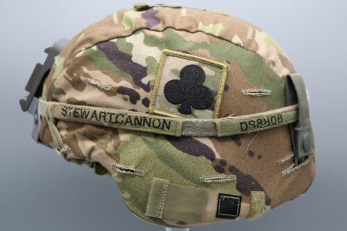 Original US Army Enhanced Combat Helmet ECH with OCP Cover & NVG Mount Medium