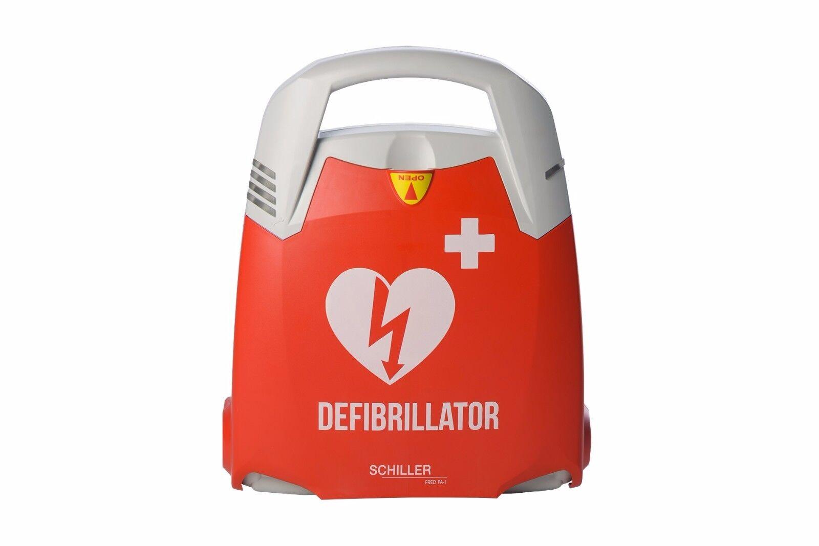 SCHILLER FRED PA-1 AED Defibrillator halb-/vollautomatisch Deutsch