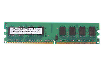 New 2GB PC2-4200 Desktop Memory DDR2 533Mhz RAM DIMM NON-ECC PC4200 2 G PC4200
