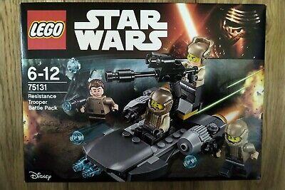 Lego Star Wars 75131 Resistance Trooper Battle Pack Brand New Sealed