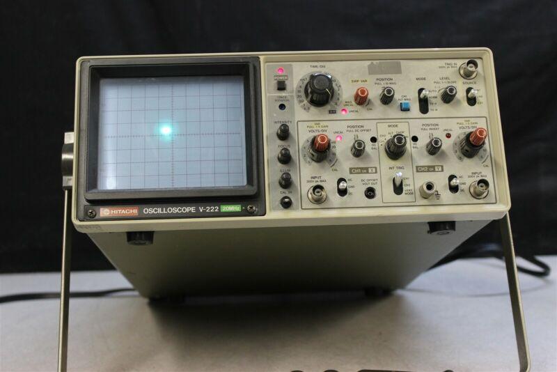 Hitachi V-222 Oscilloscope
