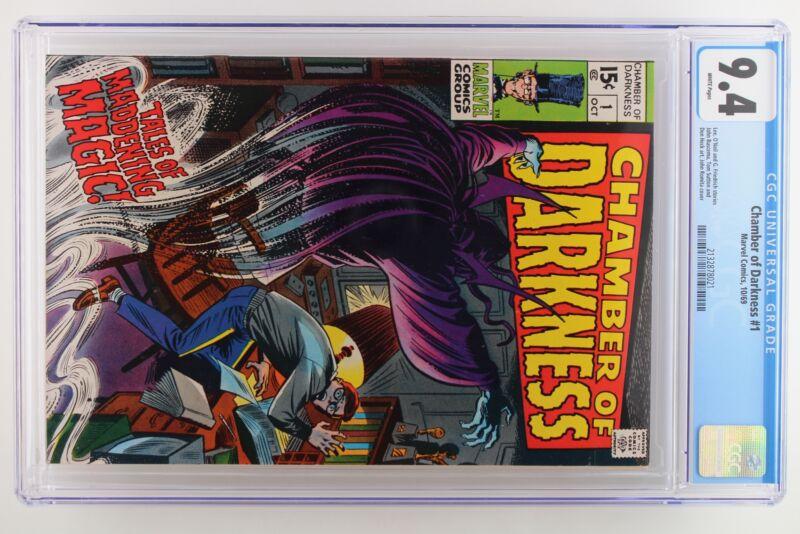 Chamber of Darkness #1 - Marvel 1969 CGC 9.4