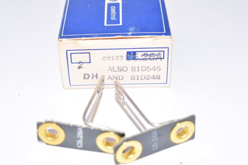 Pack of NEW General Electric, Part: C5.26A Overload Relays
