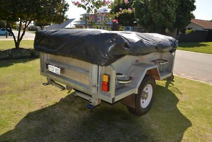 REDUCED 2013 Camper Trailer Double Dip Galvanised Off Road Heavy Hillarys Joondalup Area Preview