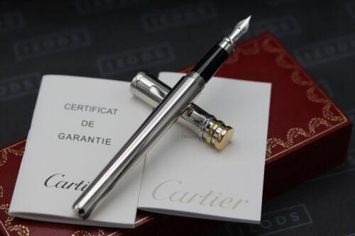 Cartier Trinity De Cartier Platinum-Plated Fountain Pen 1