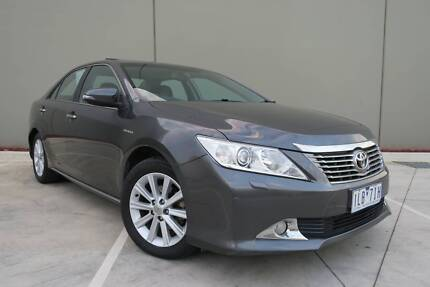 2014 Toyota Aurion Presara Graphite 6 Speed Sports Automatic Campbellfield Hume Area Preview