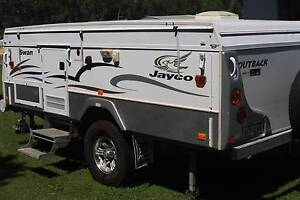 Jayco Swan Outback (Alpha Pack- In built Hot Water & Shower system) Perth Perth City Area Preview