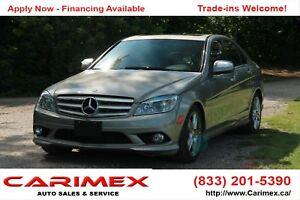 2008 Mercedes-Benz C-Class ONLY 75K | Navi | Sunroof | Leathe...