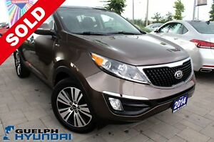 2014 Kia Sportage NAV,BACKUP CAM,PUSH START &MORE
