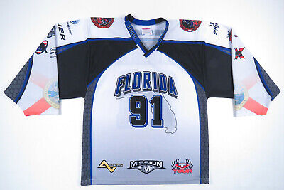 506df73ca US Roller Hockey Championships 2013 State Wars Florida Pro Joy #91 Mens  Jersey
