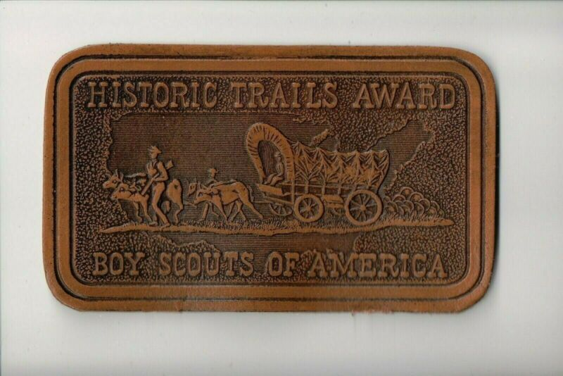 Historic Trails Award Leather patch