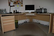 Office Desk, matching drawer set, Hutch & bookcase Bowen Mountain Hawkesbury Area Preview