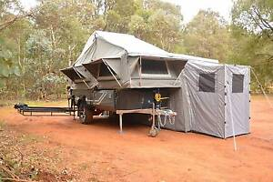 Ezytrail Stirling LX Luxury Camper Trailer Sleeps 4 Up-stairs Fyshwick South Canberra Preview
