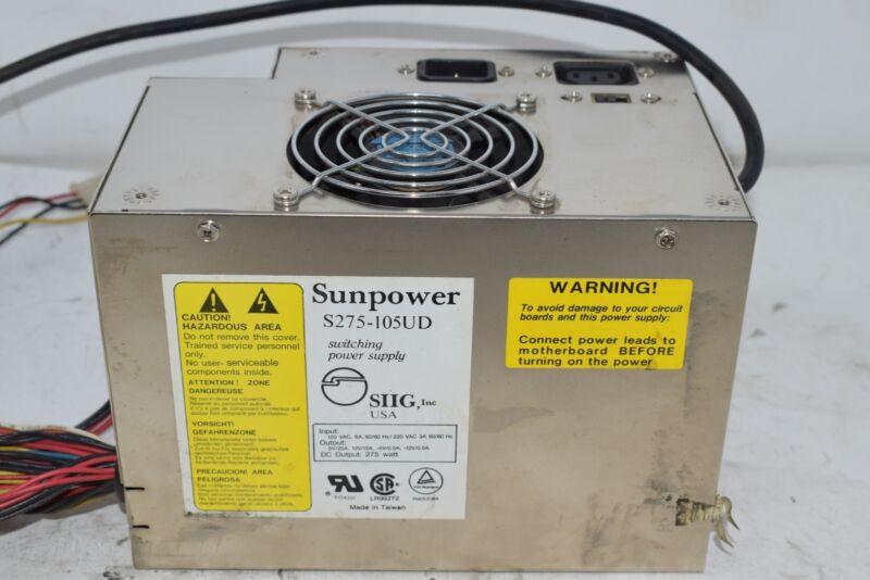 Sunpower Switching Power Supply  S275-105UD 275 Watt