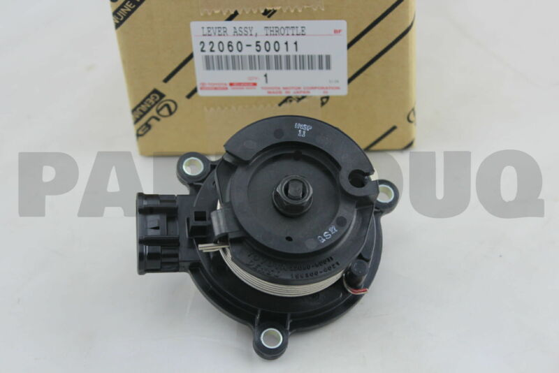 2206050011 Genuine Toyota Lever Assy, Throttle W/sensor 22060-50011