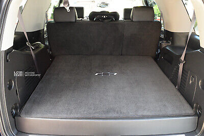 2015-2019 Chevrolet Tahoe Full Size Cargo Mat Behind 2nd Row Seats JET Color -