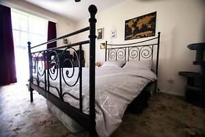 Ikea Noresund Queen Bed Frame Beds Gumtree Australia Boroondara