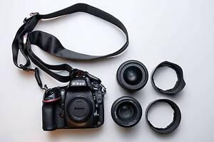 Nikon D800 + 50mm 1.8G + 35mm 1.8G + Peak Design detachable strap Fitzroy Yarra Area Preview