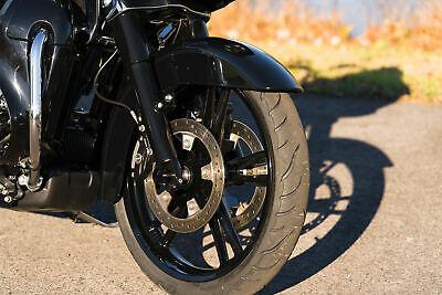 Black Reinforcer Enforcer Cast Billet Front Wheel Rim 21 3.5 Harley Touring 08+.