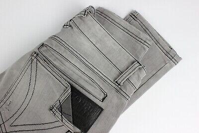 FRANKIE MORELLO VULCANO Men's W32 L33 Slim Fit Polyester Blend Jeans 31323-GS