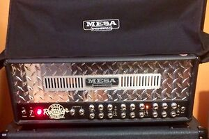 Mesaboogie  dual rectifier 100W  tube amp