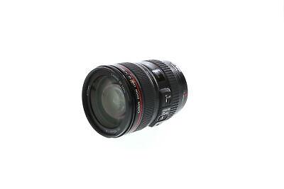 Canon 24-105mm F/4 L IS USM Macro EF Mount Lens {77} Standard / Normal - BG