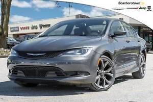 2016 Chrysler 200 200S+NAV+LTHR+PAN-ROOF