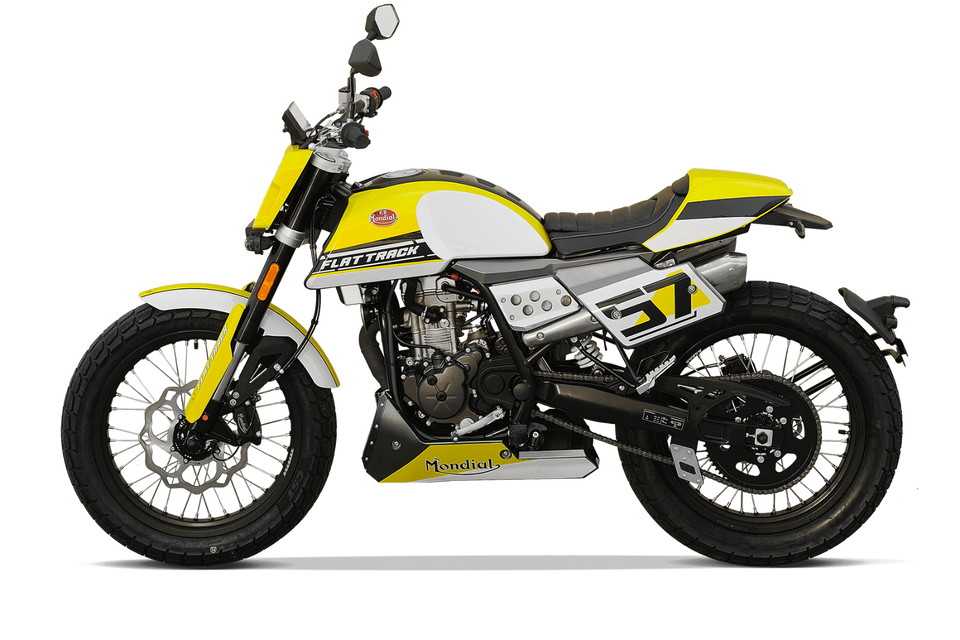 F.B Mondial Flat Track 125i ABS E5 in Hargesheim