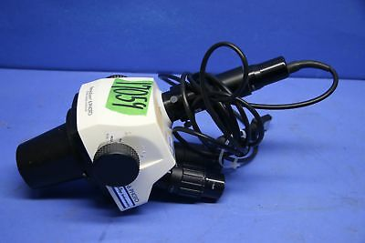 1 Used Stereozoom Sz-6 Photo Microscope With 42-12-46 Tv Adapter 17059