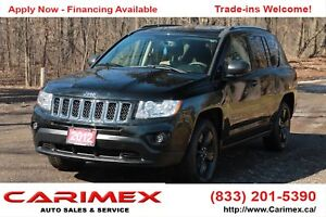 2012 Jeep Compass Sport/North 4x4 | AC | CERTIFIED