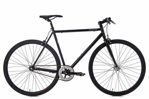 Fixie Fitnessbike singlespeed Flip Flop schwarz KS Cycling M159R