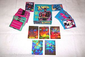 1992 Marvel Impel X-MEN Card Complete Set MINT Series 1 Hologram Jim Lee Magneto