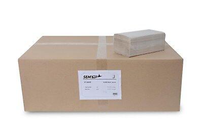 SemyTop Papierhandtuch ST-88048, ZZ-Falz, 25x23 cm, 1-lagig, natur, 10000 Blatt