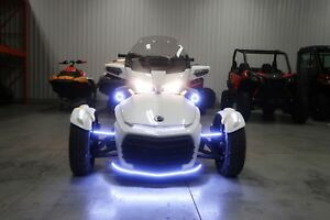 2018 Can-Am CUSTOM LED Spyder® F3 Limited SE6 - Dark Trim