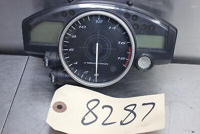 06-07 Yamaha YZF R6 R6R Gauges Speedo Tach Cluster Speedometer 8K