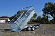 3 WAY TIPPING Galvanised Tandem 3.5 Ton Tipping Trailer Newcastle Newcastle Area Preview