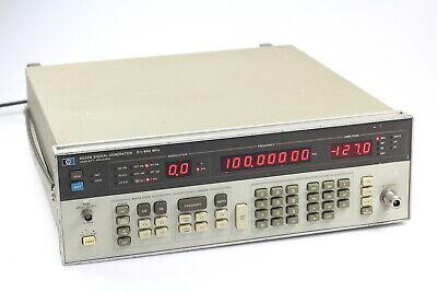 Hp 8656b Signal Generator 0.1 - 990 Mhz 6