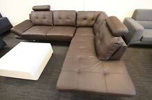 【Brand New】 Real Leather Corner Sofa Suite Chaise Set SF227 Nunawading Whitehorse Area Preview