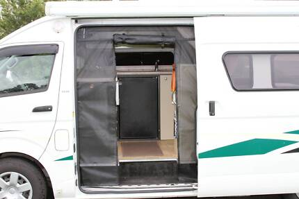 sliding or rear door fly screens for Campervans & B-class RV Geebung Brisbane North East Preview