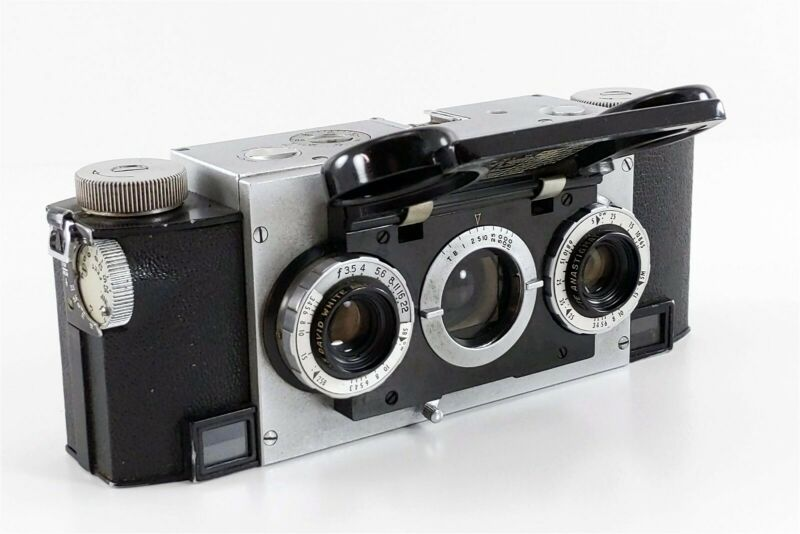 Vintage Realist Stereo Camera David White Matched f:3.5 35mm Lens