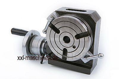 3234- Rundtisch Teilapparat Rundteiltisch 100 mm Tischfläche Vertikal Horizontal