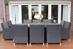 WICKER DINING SETTING,10 SEATS, EUROPEAN STYLING,BRAND NEW Nerang Gold Coast West Preview