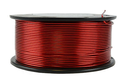 Temco Magnet Wire 16 Awg Gauge Enameled Copper 1.5lb 155c 188ft Coil Winding
