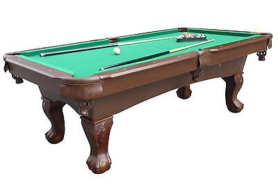 Medal Sports Springdale 7.5 ft. Billiard Pool Table with Cue Set & Accessories