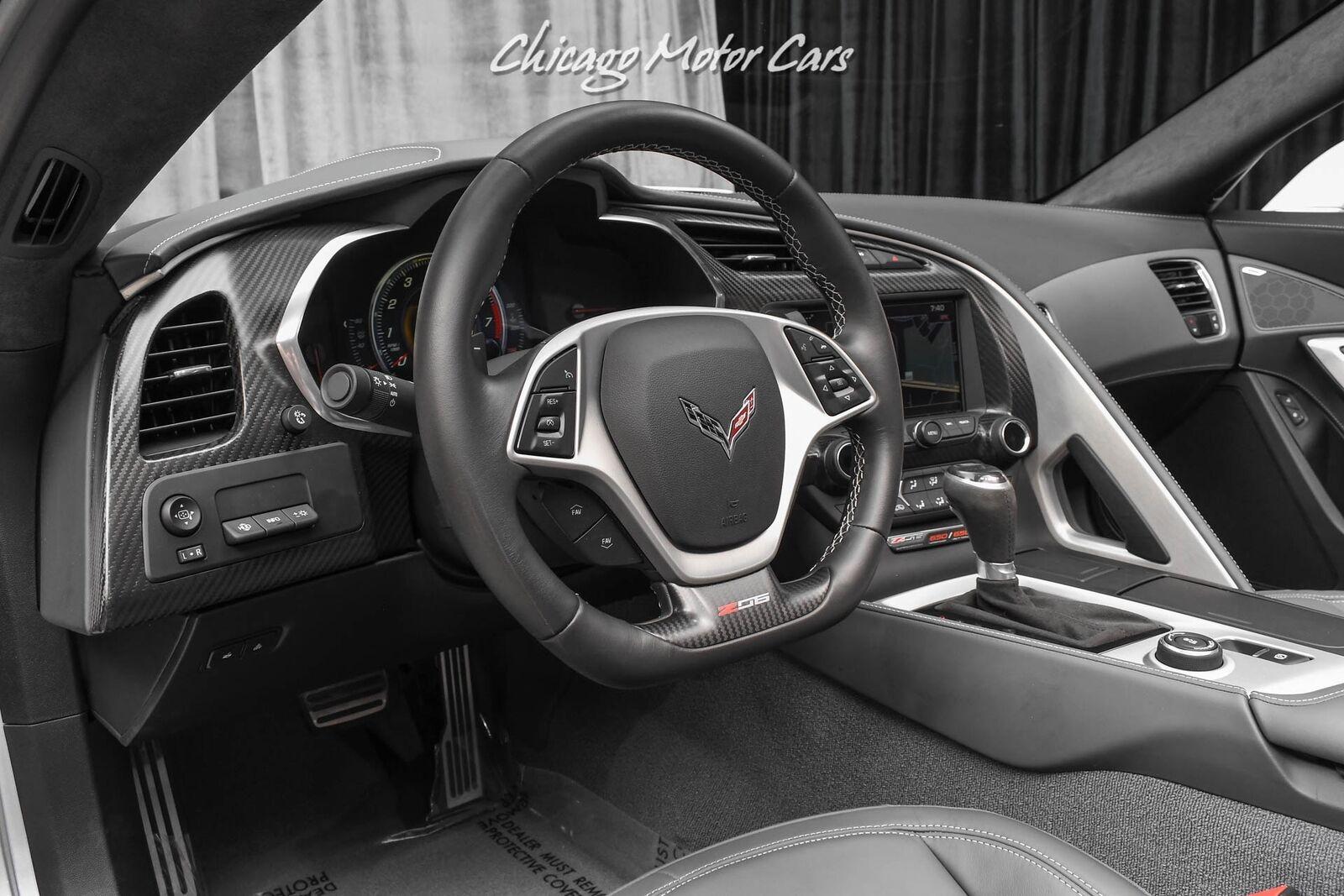 2016 Silver Chevrolet Corvette Z06 3LZ   C7 Corvette Photo 8
