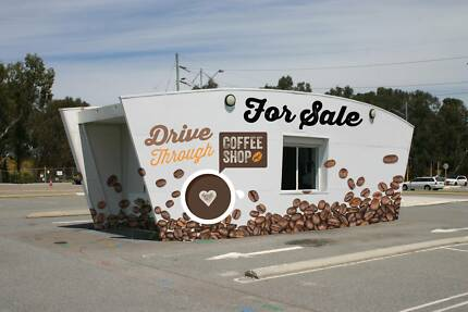 Drive Through Coffee Shop Building